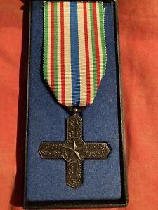militaria ww1- Medaglia Croce Cavaliere Vittorio Veneto In Astuccio Originale