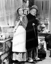 8x10 Print W.C. Fields Zasu Pitts Mrs. Wiggs of the Cabbage Patch 1934 #WCWD