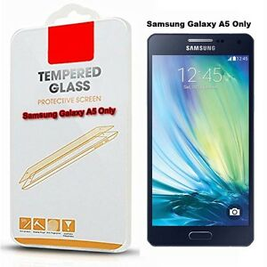 Tempered Glass Screen Protector For Samsung Galaxy A5 2014