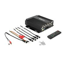 8-36V Realtime SD Car Mobile DVR 4 Channel Video/Audio Input IR Remote F9G1