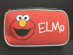 Sesame Street ELMO Universal Soft Case Red Dreamgear Case DS DS Lite DSi 3DS