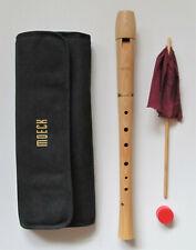 Sopranblockflöte Moeck Tuju aus Holz, deutsche Griffweise