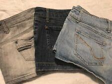 3 Pair Of Juniors Size 9 Jean Shorts