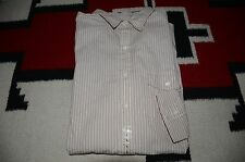 Ralph Lauren RRL 100% Cotton Striped Dress Shirt