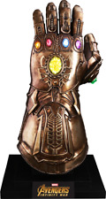 Avengers Marvel Infinity War Thanos Gauntlet Hélice Life-Size Hot Toys Sideshow
