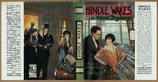 Hindle Wakes by Harold Brighouse. C.1930 Readers library in rare dustjacket