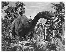 1960's Dinosaurus Brontosaurus kiddie back ride b/w 8x10 scene still