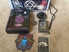 Him- His Infernal Majesty Box Set Flask Belt Buckle Heartagram