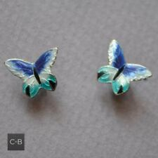 Earrings without Stone Sterling Silver Vintage & Antique Jewellery