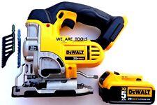 DeWalt DCS331 20V Cordless Variable Speed Jig Saw,(1) DCB205 5.0 Battery 20 Volt