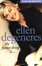 The Funny Thing Is... New Paperback Book Ellen DeGeneres