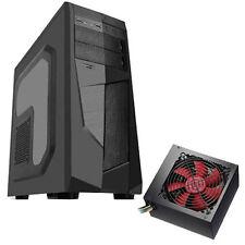 "AVP MAMBA BLACK - 500W PSU - ATX MIDI TOWER CASE WITH SIDE WINDOW & 2.5"" BAYS"