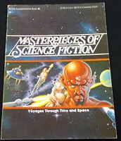 MASTERPIECES OF SCIENCE FICTION 1978 Ariel SC Vonnegut Ellison Heinlein Bradbury