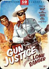 Gun Justice Featuring The Lone Ranger: 50 Episodes (DVD, 2012, 4-Disc Set)