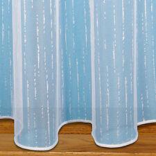 "Brooklyn Slub Design Lead Weighted Net Curtain by The Metre 40"" - 102cm"