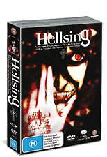 HELLSING Anime COMPLETE COLLECTION (DVD, 2004, 4-Disc Set) CLOSE TO NEW
