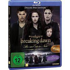 $ Blu-ray * Twilight Breaking Dawn - Bis (s) zum Ende der Nacht  Teil 2 -  Fan