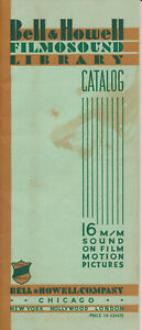 Bell & Howell Filmosound Film Library Catalog (1936) (NR)