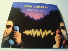 RAR  SINGLE CD. KEN LASZLO. HEY HEY GUY. ITALO DISCO. SPAIN. ED. CARTÓN