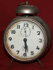 Antique German Haller Alarm Table Desck Clock