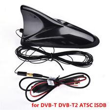 Universal Car Roof Antenna Signal DVB-T DVB-T2 ATSC ISDB Digital TV SMA Receiver