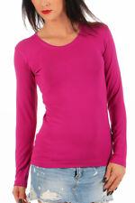 BALI Lingerie - Damen Langarm Shirt Rundhals T-Shirt Top