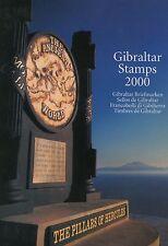 Gibilterra/Gibraltar 2000 Annata completa in FOLDER delle poste MNH