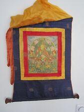 *235-20* Wandbild Thangka aus Seide Asien um 1950