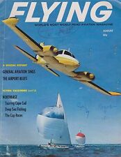 Flying Magazine (Aug 1964) (GA Airports, Transponders, Boeing P-12, CAP)
