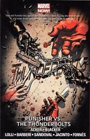 Thunderbolts Vol 5: Punisher vs Thunderbolts by Acker & Blacker TPB  Marvel OOP