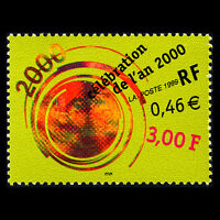France 1999 - Turn of a century Art - MNH