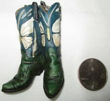 Western Mini Magnet Cowboy Boots Type E  New
