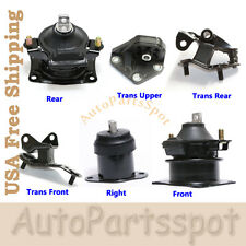 G062 03-07 Honda Accord 2.4L Motor & Trans. Mount Kit 6PCS for Auto Transmission