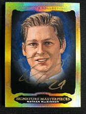 2013-14 UD Ultimate Signature Masterpiece Nathan MacKinnon RC Auto