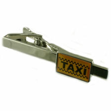 Taxi Tie Clip With Pouch