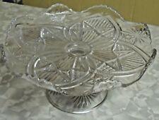 "Beautiful Elegant Pedestal  Cake plate 9"" Cake Pastry"