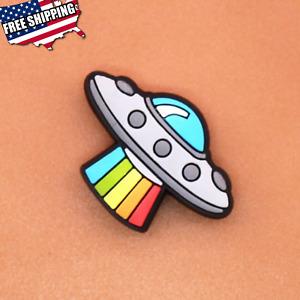 Alien Spaceship Shoe Charm Kids Fantasy Toys Christmas Gift Items Free Shipping