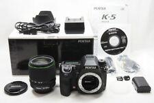 Pentax K-5 16.3MP Caméra SLR Numérique Corps Avec / Smc Da 18-135mm Wr Lentille