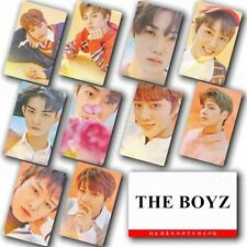 KPOP THE BOYZ Sticky Lomo Photo Card HD Crystal Photocard Poster Gift 10pcs
