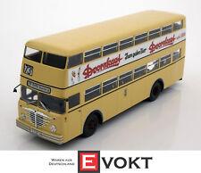 Büssing D2U with open rear entry Doornkaat beige 1:43 Minichamps