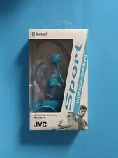 JVC HA-EC20BT-A  SPORT  BLUETOOTH WIRELESS HEADPHONES BLUE,
