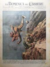 La Domenica del Corriere 29 Settembre 1946 Morte Gervasutti Norvegia Profezie