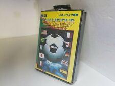 NEW Factory Sealed Champions World Class Soccer for Sega Mega drive N40
