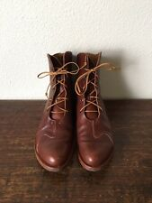 Cydwoq Lace Up Ankle Boots Traverse Size 37 $370 W/o Box Brown
