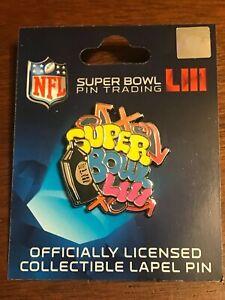 Super Bowl LIII Graffiti Street Art Pin Los Angeles Rams VS.New England Patriots