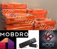JAILBROKEN 🔥 🔥 Amazon Fire TV Stick w/ Alexa Voice Remote WITH KODI 17.6 🔥 🔥