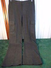 BCBG Maxazria Mens Charcoal Gray Pants-Size 30