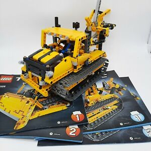 Lego Technic 42028 Bulldozer With Set 1 & Set 2 Manual - Incomplete