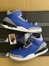 2020 Nike Air Jordan 3 III Royal Blue Cement CT8532 400 MEN SZ: 8-13