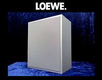 "Lautsprecher LOEWE Individual Sound ""SUB 1"" SUBWOOFER Aktiv Bass Speaker Silber"